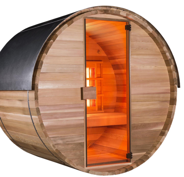 infrarotkabine als fass barrel sunday pools onlineshop. Black Bedroom Furniture Sets. Home Design Ideas