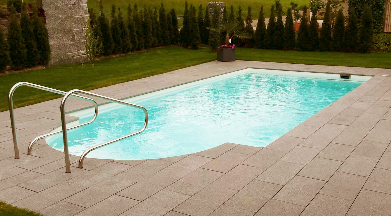 Pool mit r mertreppe 3 30 x 6 20 x 1 53 m sunday pools - Pool mit filteranlage ...