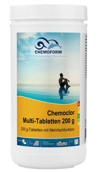 Chemoclor Multi-Tabletten 200 g mit Mehrfachfunktion