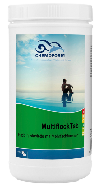 Flocktabletten mit Multifunktion