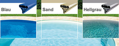 Stahlwandpool komplettset rund sunday pools onlineshop for Stahlwandpool folie